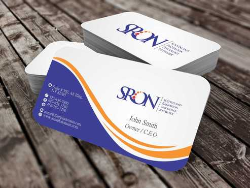 Southland Radiation Oncology Network Business Cards and Stationery  Draft # 148 by Dawson