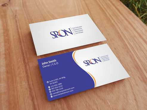 Southland Radiation Oncology Network Business Cards and Stationery  Draft # 147 by Dawson