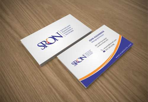 Southland Radiation Oncology Network Business Cards and Stationery  Draft # 146 by Dawson