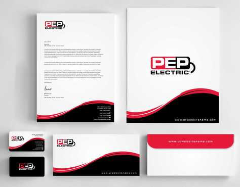 PEP Electric LLC Business Cards and Stationery  Draft # 305 by Dawson