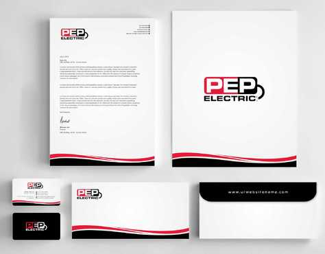 PEP Electric LLC Business Cards and Stationery  Draft # 308 by Dawson