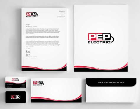 PEP Electric LLC Business Cards and Stationery  Draft # 313 by Dawson