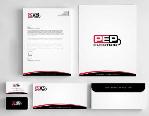 PEP Electric LLC Business Cards and Stationery  Draft # 314 by Dawson