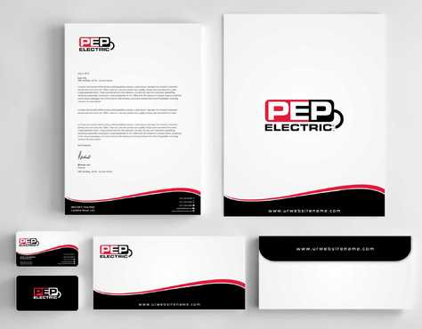 PEP Electric LLC Business Cards and Stationery  Draft # 316 by Dawson