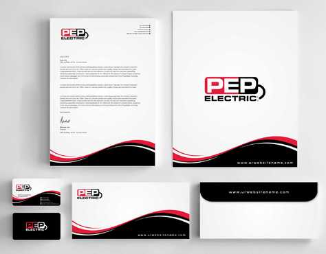 PEP Electric LLC Business Cards and Stationery  Draft # 323 by Dawson