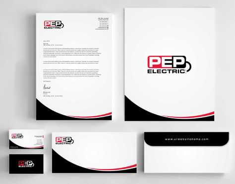PEP Electric LLC Business Cards and Stationery  Draft # 333 by Dawson