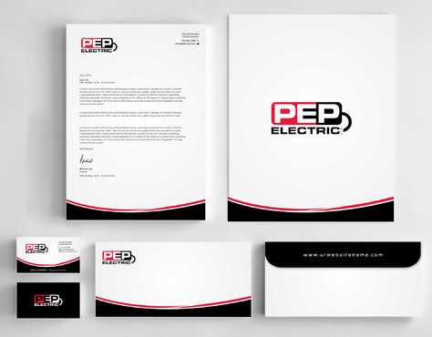 PEP Electric LLC Business Cards and Stationery  Draft # 336 by Dawson