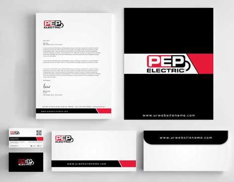 PEP Electric LLC Business Cards and Stationery  Draft # 343 by Dawson