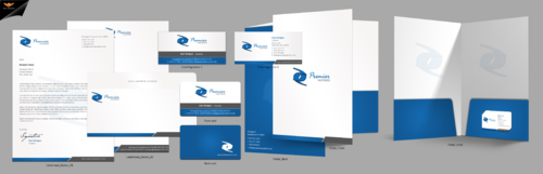 Premier Partners Business Cards and Stationery Winning Design by einsanimation