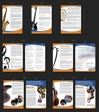 New Look for Program Initiative collateral for Music Museum