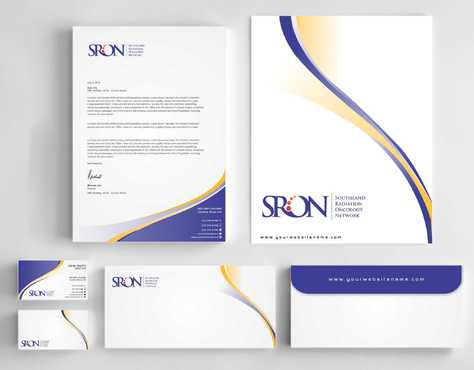 Southland Radiation Oncology Network Business Cards and Stationery  Draft # 187 by Dawson