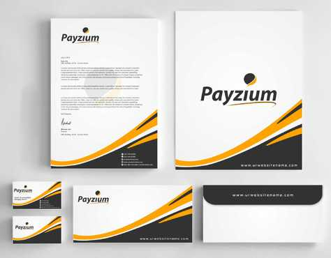 Payzium Business Cards and Stationery  Draft # 274 by Dawson