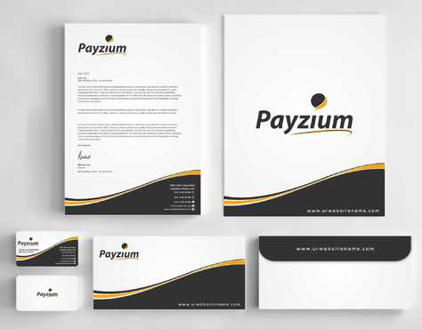 Payzium Business Cards and Stationery  Draft # 275 by Dawson