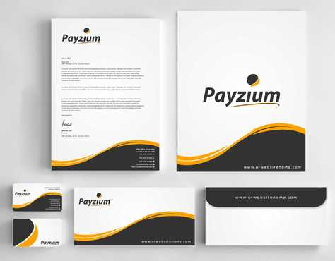 Payzium Business Cards and Stationery  Draft # 276 by Dawson