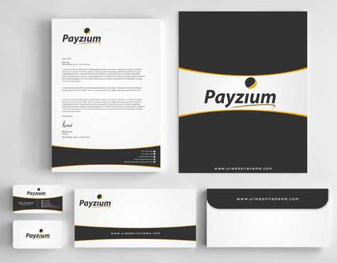 Payzium Business Cards and Stationery  Draft # 278 by Dawson