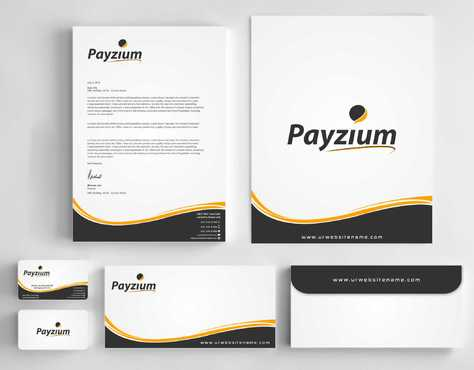 Payzium Business Cards and Stationery  Draft # 277 by Dawson