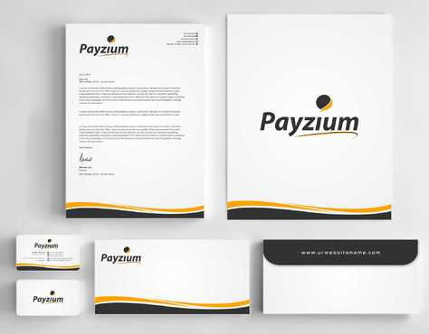 Payzium Business Cards and Stationery  Draft # 279 by Dawson