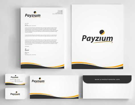 Payzium Business Cards and Stationery  Draft # 280 by Dawson