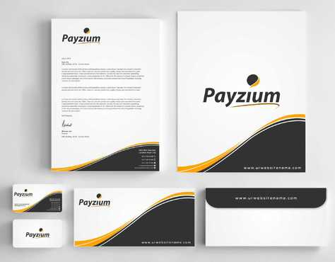 Payzium Business Cards and Stationery  Draft # 281 by Dawson
