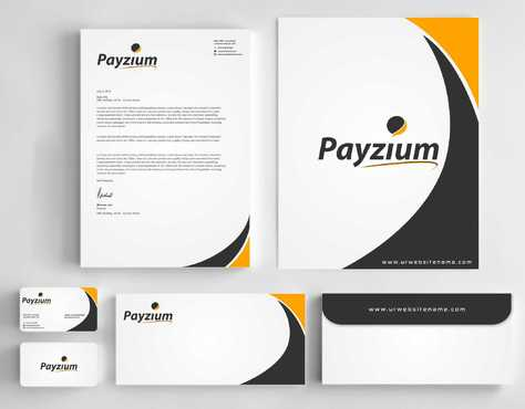 Payzium Business Cards and Stationery  Draft # 282 by Dawson