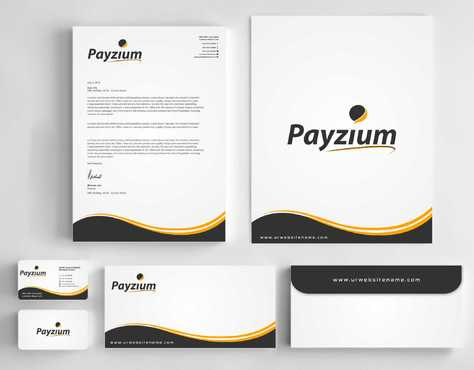 Payzium Business Cards and Stationery  Draft # 283 by Dawson