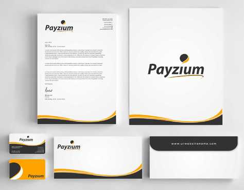 Payzium Business Cards and Stationery  Draft # 284 by Dawson
