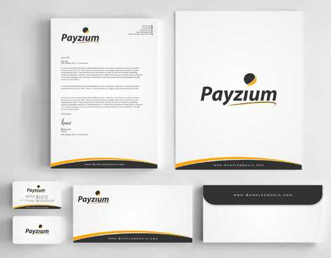 Payzium Business Cards and Stationery  Draft # 285 by Dawson