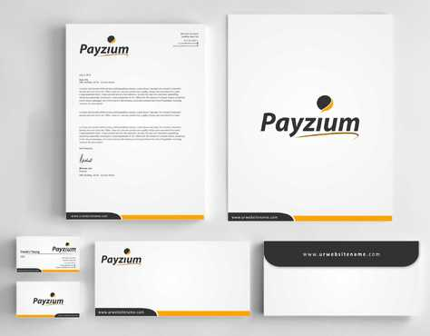 Payzium Business Cards and Stationery  Draft # 286 by Dawson