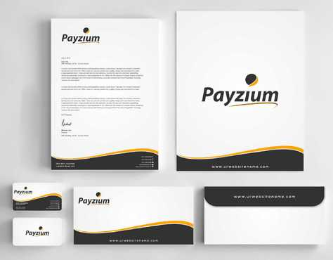 Payzium Business Cards and Stationery  Draft # 287 by Dawson