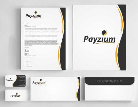 Payzium Business Cards and Stationery  Draft # 288 by Dawson