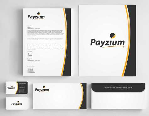 Payzium Business Cards and Stationery  Draft # 289 by Dawson