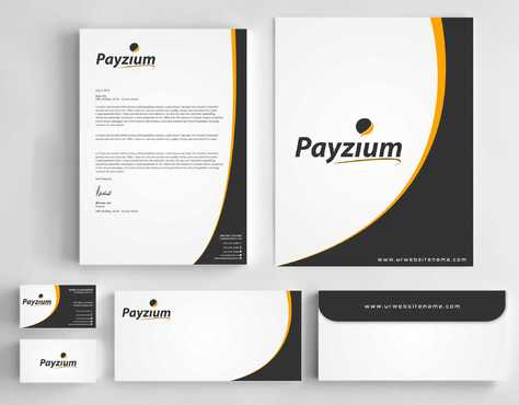 Payzium Business Cards and Stationery  Draft # 290 by Dawson