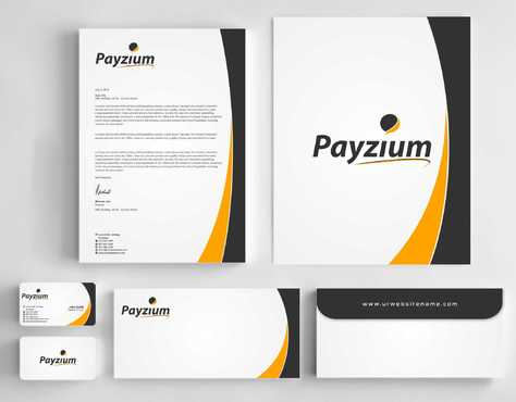 Payzium Business Cards and Stationery  Draft # 291 by Dawson
