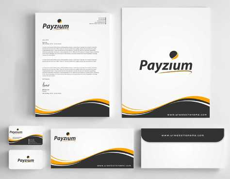 Payzium Business Cards and Stationery  Draft # 293 by Dawson