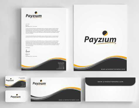 Payzium Business Cards and Stationery  Draft # 294 by Dawson