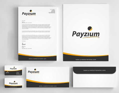 Payzium Business Cards and Stationery  Draft # 295 by Dawson