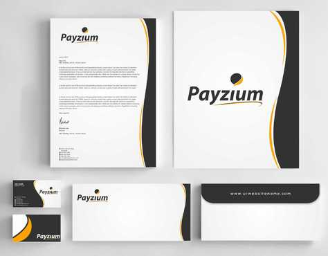 Payzium Business Cards and Stationery  Draft # 296 by Dawson