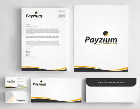 Payzium Business Cards and Stationery  Draft # 297 by Dawson