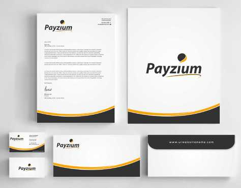 Payzium Business Cards and Stationery  Draft # 298 by Dawson