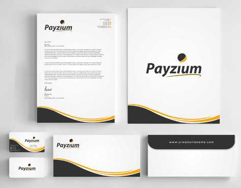 Payzium Business Cards and Stationery  Draft # 299 by Dawson