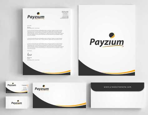 Payzium Business Cards and Stationery  Draft # 300 by Dawson