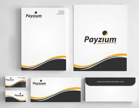 Payzium Business Cards and Stationery  Draft # 301 by Dawson