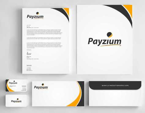 Payzium Business Cards and Stationery  Draft # 302 by Dawson