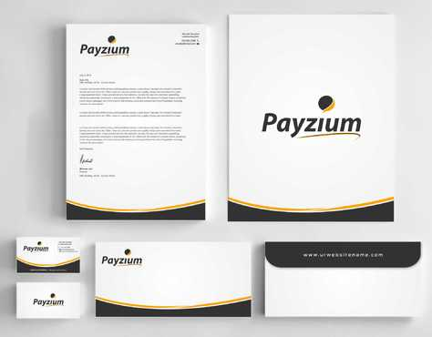 Payzium Business Cards and Stationery  Draft # 303 by Dawson