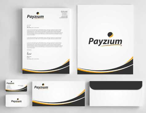 Payzium Business Cards and Stationery  Draft # 304 by Dawson