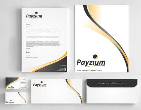 Payzium Business Cards and Stationery  Draft # 305 by Dawson