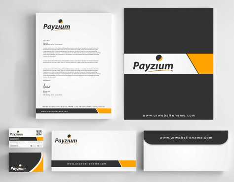 Payzium Business Cards and Stationery  Draft # 310 by Dawson