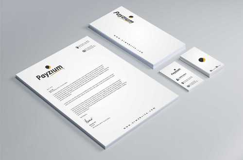 Payzium Business Cards and Stationery  Draft # 311 by Dawson