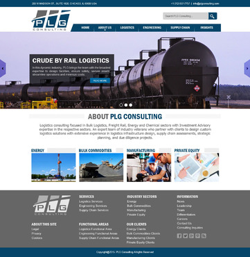 New Website for Consulting company Complete Web Design Solution  Draft # 4 by websoft07