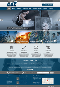 New Website for Consulting company Complete Web Design Solution  Draft # 5 by FuturisticDesign